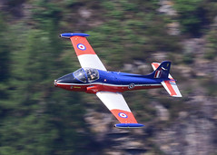 JP (Treflyn) Tags: raf bac jet provost t5 xw325 gbwgf colourful sight mach loop static display cosford air show