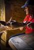 L'homme qui murmurait à l'oreille des daims (soffy.photography) Tags: animals daim nature nourrir animaux deer