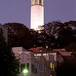 San Francisco – Coit Tower At Evening thumbnail