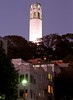 San Francisco – Coit Tower At Evening (David Paul Ohmer) Tags: san francisco california north beach washington square park coit tower evening