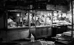 weighing wares (steve: they can't all be zingers!!! (primus)) Tags: sonya7r mdrokkerx45mmf2 primelens prime primeminoltalens monochrome blackwhite bw blackandwhite taichungtaiwan taiwan taichung sony