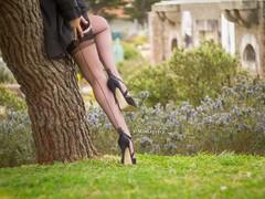 cuban heels (normamisslegs) Tags: basnylon stockings nylon nylonstockings cuban couture vintage keyhole rétro glamour élégance elegant heels talons talonshauts highheels tacones shoes fashion addict woman charme legs jeudejambes gambettes soyeuses ffns