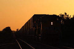 UP 8683 (CC 8039) Tags: up trains sd70ace ac44cw sunset morrison illinois