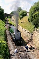 Patience: 60009 (Gerald Nicholl) Tags: lner a4 60009 unionofsouthafrica gresley steam engine train loco locomotive express elr eastlancashirerailway lancashire bury heywood