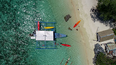 Lunch Breack on Coron Island (Chrisdevillio) Tags: holidays landscape seaside fromabove nature turquiousewater turquiouse cloudy aerial philippines holiday sea bluesky sun birdview beach phantom4 dji islandhopping exploration wave coron drone green chbphotography dronepicture viewfromabove walk mimaropa philippinen ph