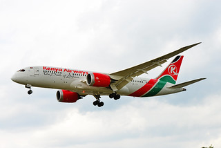 KENYA AIRWAYS, BOEING 787 DREAMLINER