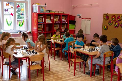 VIII Turniej Szachowy o Mistrzostwo Przedszkola Europejska Akademia Dziecka-8