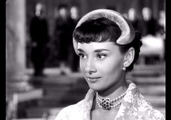 Audrey Hepburn, Roman Holiday, 1953 (classic_film) Tags: audreyhepburn romanholiday film movie cine cinema 1953 fifties 1950s italy actress actor hollywood vintage classic fashion beauty beautiful romance mujerbonita mujer frau brunette hair hairstyle style elegant retro época ephemeral entertainment prettygirl pretty añejo clásico history italian woman city historical rome europe niñabonita sexy sensuous hat película necklace jewelry actrice actriz schauspielerin aktrice face old nostalgic nostalgia eyes schön lady jahrgang alt oll