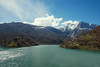 Lago di Vagli in Garfagnana (Darea62) Tags: landscape lake river nature garfagnana tuscany dam village vagli vaglisotto mountains snow clouds sky panorama paesaggio