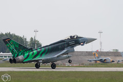Ghost Tiger Landing #2 (maclapt0p) Tags: fighter aircraft germany plane 3100 typhoon poznan ntm2018 poland ef2000 specialtail eurofighter polen