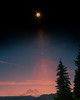 2017 Solar Eclipse (Mike Monaghan) Tags: mikemonaghan solareclipse 2017eclipse moon mountrainier mountain lensflare landscape nature astrophotography sky trees space galaxy summer