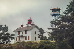 Yaquina Bay Lighthouse (buffdawgus) Tags: oregoncoast oregon canonef24105mmf4lisusm lincolncounty newport topazsw yaquinabaylighthouse lightroom6 yaquinabay canon5dmarkiii lighthouse