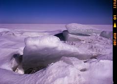 Ice (suxarik) Tags: mamiya 645 6x45 120 645afd af sekor mamiyasekor mf medium mediumformat film expired e6 color fujifilm fuji velvia fujifilmvelvia100 rvp100 analog slide positive scanned imacon imaconflextightphoto winter snow ice sky