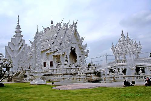Wat Ronkhun, Chiangrai.