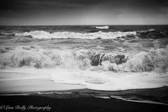 West Bay Waves (broadswordcallingdannyboy) Tags: westbay beach sea waves atmosphere mood dorset leonreillyphotography copyright eos7d 1740mm westcountry dramatic sky seascape drama