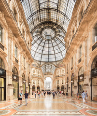 Galleria Vittorio Emanuele II (Chimay Bleue) Tags: milan milano giuseppe mengoni victor emmanuel vittorio emanuele galerie galleria gallery shopping plaza duomo italy italian architecture