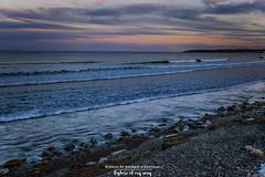 The Serenity (Saswati Sarthak Sahu) Tags: landscape maine colorfulsky sea ocean beach usa travel nature sunset nikonphotography nikonphotos nikon colorful serene amazingplaces adventure seascape naturallight rocky coastline