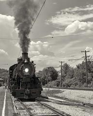 1630 ***Explored 05/30/18*** (NikonD3xuser1(Thanks for 2 million visits)) Tags: usa illinois illinoisrailwaymuseum 1630 steam steamengine summer smoke train tracks d850 nikon