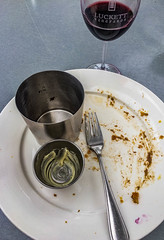 2018 - photo 153 of 365 - it was a good meal..!! (old_hippy1948) Tags: silverware glass plate wine