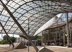 olympic roof (lichtauf35) Tags: roof architecture olympiapark munich2018 construction 5dmk2 2000views bratwurst lightroom photomatix lichtauf35