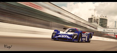 Nissan R92CP (at1503) Tags: nissan r92cp nissanr92cp calsonic livery classiclivery nurburgring germany clouds sky sunny blue track circuit 1992 1990s groupc speed motion blur warmtones japanese car racingcar power granturismo retro classic granturismosport motorsport racing game gaming ps4