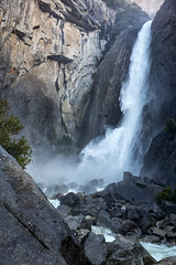 Falling Water (Kirk Lougheed) Tags: california usa unitedstates yosemite yosemitefalls yosemitenationalpark yosemitevalley landscape nationalpark outdoor park spring water waterfall