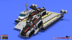 RE-LC4 Pegasus Ramp DN APC Off (Angel_GUARD) Tags: lego da3 redline