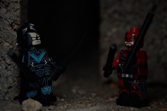fight night (notatoy) Tags: lego marvel dc nightwing daredevil