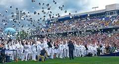 The United States Naval Academy graduation. (brian.swogger) Tags: