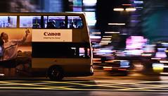 Speed of Hong Kong (wilsonphoto_a) Tags: phenix50mmf17mc primelens manuallens nikond3400 panning photographer photography hongkongphotographer doubledeckerbus hongkongbus speed slowshutter tsimshatsui 香港 攝影