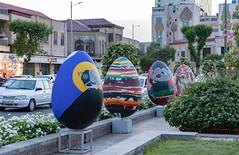 Baharestan Square, Tehran (Ninara) Tags: tehran iran baharestan egg nowruz baharestansquare