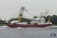 KW 88 'Pelikaan' (Romar Keijser) Tags: kotter visserij emk eendracht maakt kracht protest amsterdam dam aanlandplicht discard ban