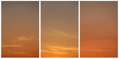 Triptych (richardr) Tags: triptych sunset twilight berkshire sky clouds england english britain british greatbritain uk unitedkingdom europe european