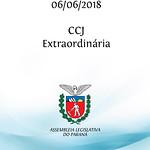 CCJ Extraordinária 06/06/2018
