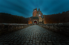 Blue Hour at Eltz Castle (oliver.herbold) Tags: eltzcastle burgeltz eltz elts germany deutschland eifel moselle mosel wirschem koblenz trier medieval mittelalter castle burg travel reisen landscape landschaft bluehour mood moody stimmung light licht morning morgen sunrise sonnenaufgang scenic canon oliverherbold