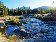High Country Sunrise, Tuolumne River, Yosemite 5-17 (inkknife_2000 (9 million views)) Tags: yosemitenationalpark california usa landscapes mountains cahwy120 tiogapassroad dgrahamphoto easternsierranevada tuolumneriver frost tuolumnemeadows