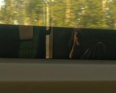 train.dreams. (B-napril) Tags: train thoughts reflection girl
