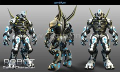 3D Robot Warrior games character Design By Gameyan game outsourcing company - Chicago, USA (GameYanStudio) Tags: character fantasy robot art modeling artists design companies 3dcharacter gamecharactermodeling warriorgames gamedevelopment 3dgamedesign animation designs development studio