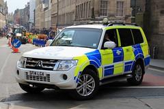 Police Scotland Mitsubishi Shogun Armed Response Vehicle (PFB-999) Tags: police scotland ps mitsubishi shogun 4x4 armed response vehicle car unit arv firearms lightbar grilles fendoffs leds sf14lga edinburgh