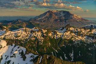 Flying Down to Mount St Helens