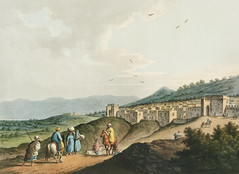 City of Bethlehem, in Palestine from Views in the Ottoman Dominions, in Europe, in Asia, and some of the Mediterranean islands (1810) illustrated by Luigi Mayer (1755-1803).