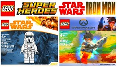 Amazing Custom Lego Polybags !!! (afro_man_news) Tags: lego polybags custom fake marvel dc overwatch tracer mei batman two face hellboy imperial range trooper star wars solo story iron man mark 5 inside out l337 nite owl zootopia lt judy hopps minifigures minifigure superheroes joy avengers infinity war all characters