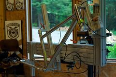 Lynn's Marauder Ti Tacked (44 Bikes) Tags: 44bikes custombicycle mountainbike framebuilding marauder plus titanium