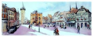 Obernai - Alsace - France