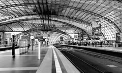 Central Station Berlin (KPPG) Tags: 7dwf bw schwarzweis berlin deutschland germany bahnhof trainstation hauptstadt capital architektur architecture