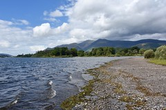 Derwentwater & Skiddaw, Lake District (Nige H (Thanks for 12m views)) Tags: nature landscape lake lakedistrict derwentwater skiddaw cloud shoreline cumbria england