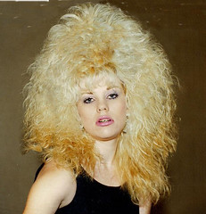 80s teased look (bigi8281) Tags: 80s bighair teased blonde