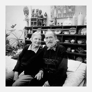 Dad & Mom - #squaremag #portrait #photography #picoftheday #blackandwhite