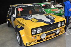 Fiat 131 Abarth Rally (benoits15) Tags: automotive automobile anciennes avignon retro racing rallye renault rally italian italia italy old prestige supercar festival flickr french gt german historic motor meeting car classic coches cars collection circuit voiture vintage nikon fiat 131 abarth