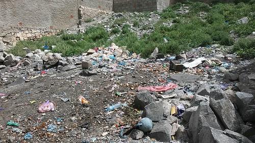 Garbage everywhere in Borama